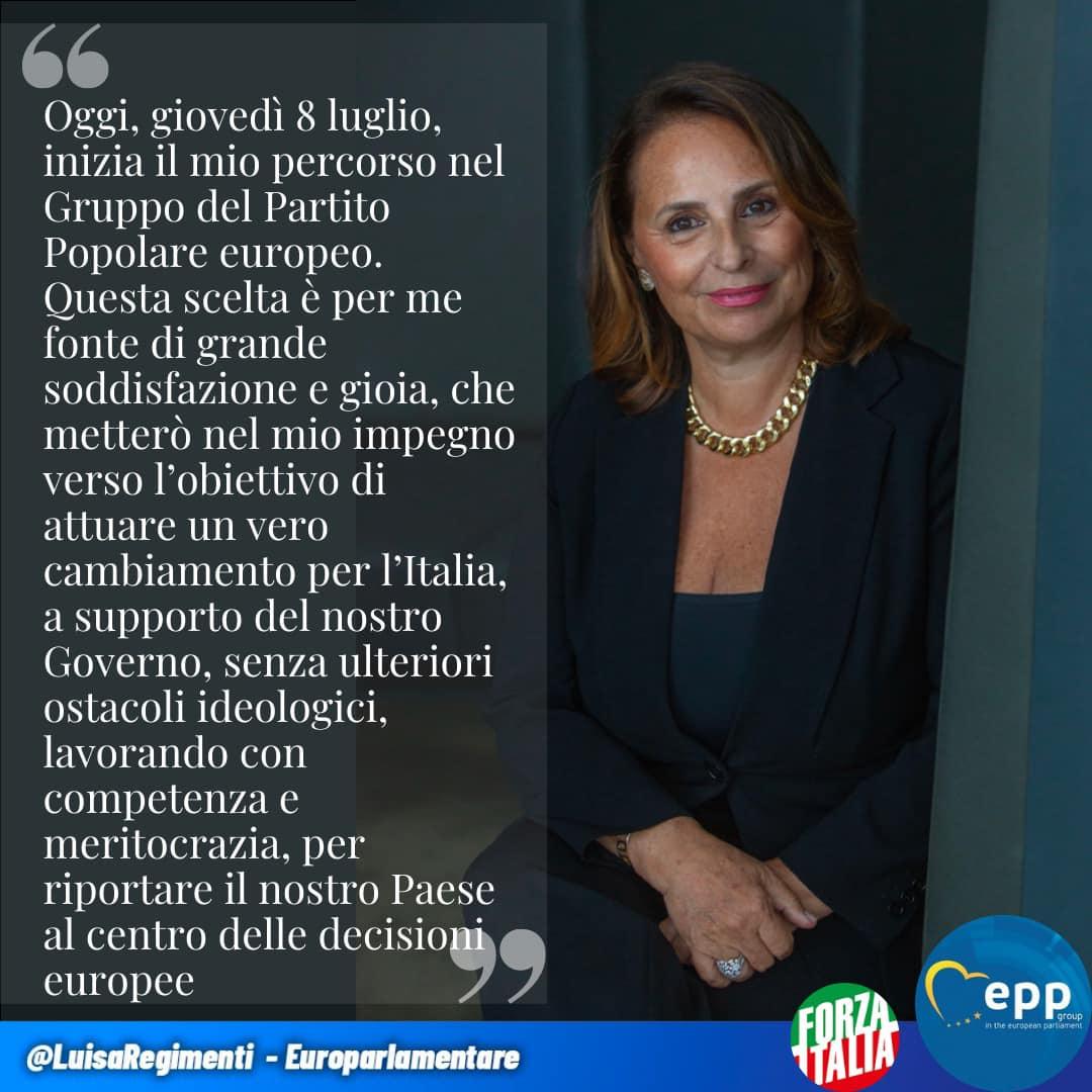 Gli Europarlamentari on-line di Forza Italia